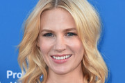 January Jones Medium Wavy Cut