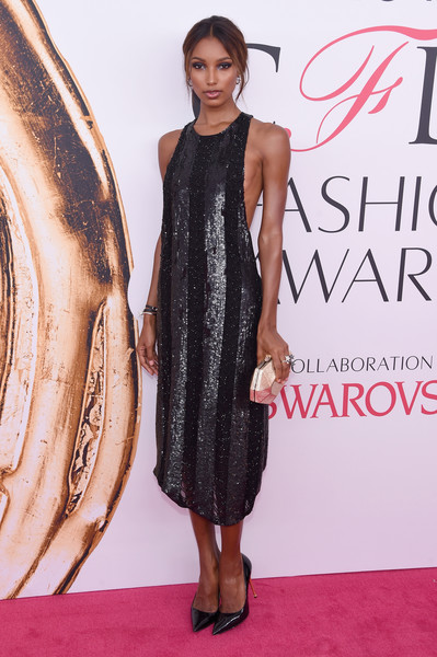 Jasmine Tookes Metallic Clutch