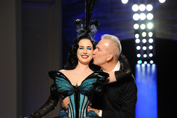Dita Dominates the Jean Paul Gaultier Runway