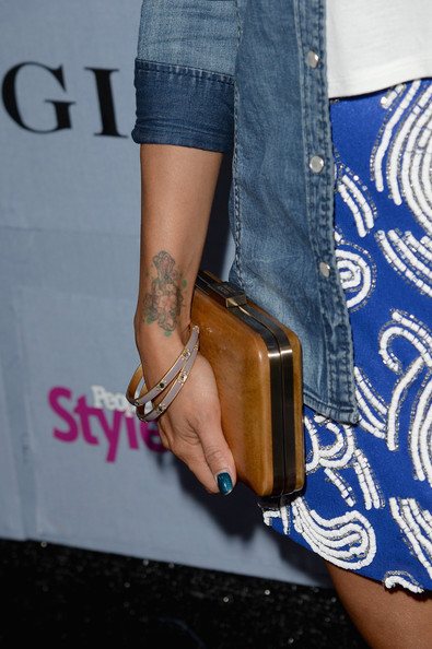 Jeannie Mai Hard Case Clutch