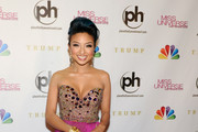 Jeannie Mai Strapless Dress
