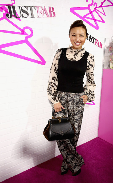 Jeannie Mai Leather Tote
