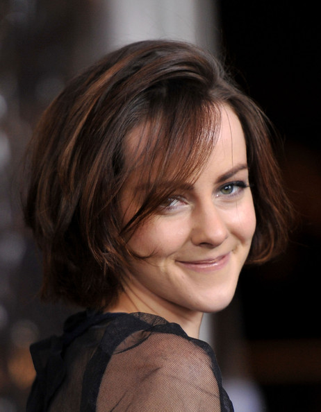 Jena Malone Short Straight Cut