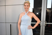 Jenna Elfman Halter Dress