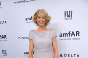 Jenna Elfman Off-the-Shoulder Dress