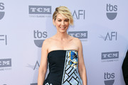 Jenna Elfman Strapless Dress