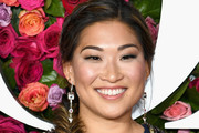 Jenna Ushkowitz Long Braided Hairstyle