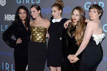 "Jenni Konner Jemima Kirke HBO Hosts The Premiere Of ""Girls"" Season 2 - Arrivals"