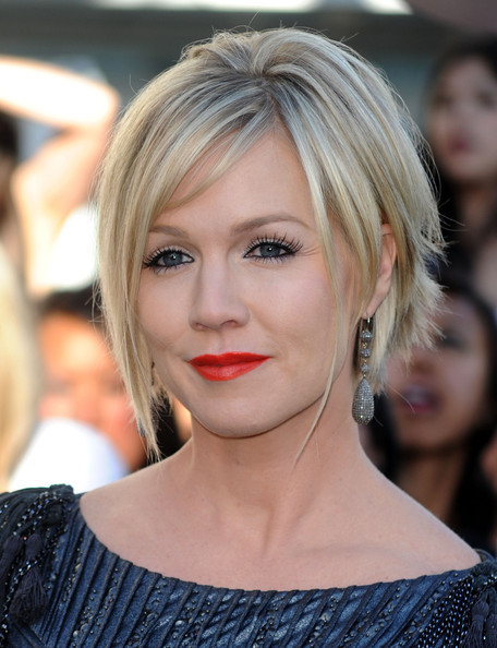 Jennie Garth Messy Cut
