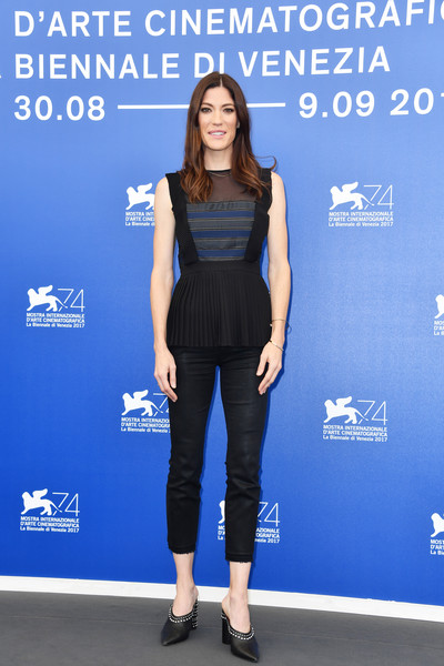 Jennifer Carpenter Studded Heels