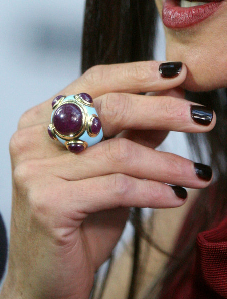 Jennifer Connelly Gemstone Ring