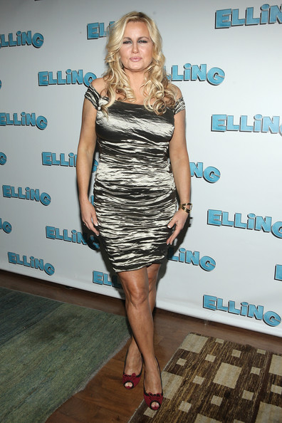 Jennifer Coolidge Off-the-Shoulder Dress
