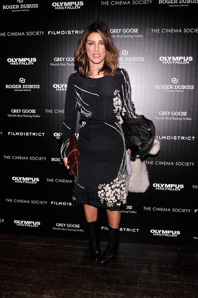 Jennifer Esposito Print Dress