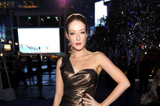 Jennifer Finnigan One Shoulder Dress