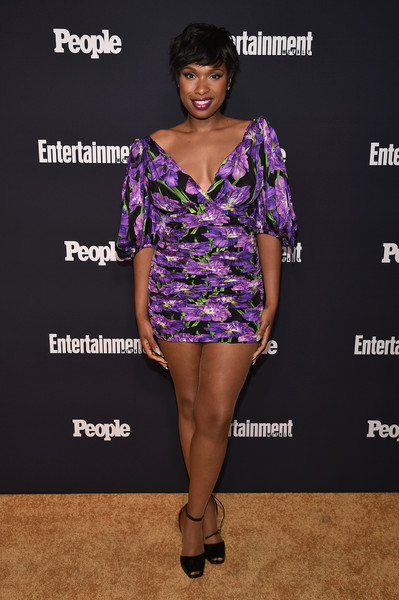 Jennifer Hudson Print Dress