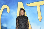 Jennifer Hudson Embroidered Dress