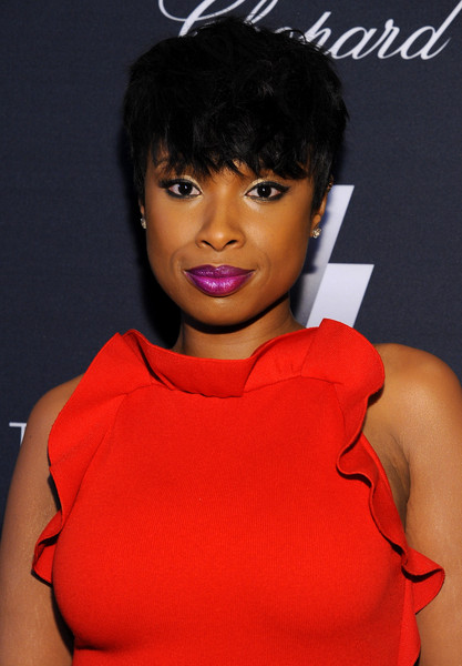 Jennifer Hudson Short Cut With Bangs Short Hairstyles Lookbook StyleBistro