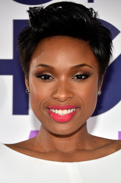 More Pics of Jennifer Hudson Short Straight Cut 31 of 42 Short Hairstyles