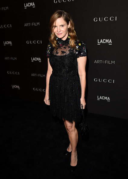 Jennifer Jason Leigh Beaded Dress