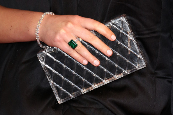 Jennifer Lawrence Hard Case Clutch
