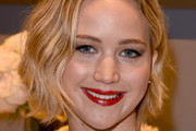 Jennifer Lawrence Short Wavy Cut