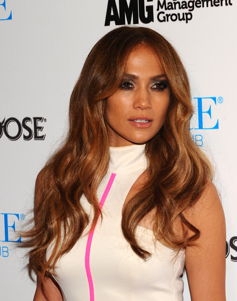 More Pics of Jennifer Lopez Ankle Boots (1 of 10) - Boots Lookbook - StyleBistro [jennifer lopez,hair,hairstyle,face,brown hair,long hair,hair coloring,blond,eyebrow,beauty,lip,pure nightclub,caesars palace,las vegas,nevada,appearance]