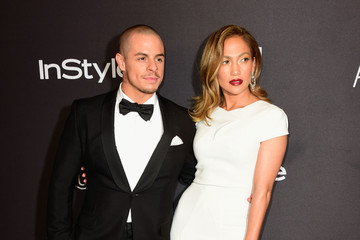 Jennifer Lopez Casper Smart 2016 InStyle and Warner Bros. 73rd Annual Golden Globe Awards Post-Party - Arrivals