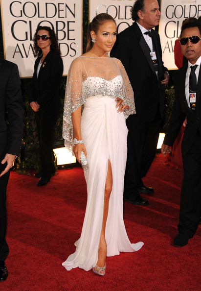 6fa47109c74b Jennifer Lopez Wears Zuhair Murad at the Golden Globe Awards ...