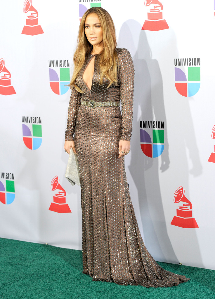 Jennifer Lopez Beaded Dress Jennifer Lopez Beaded Dress Looks Stylebistro