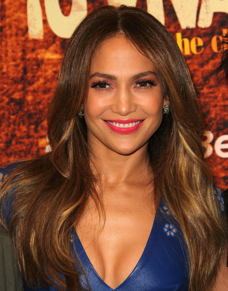 Jennifer Lopez Diamond Studs