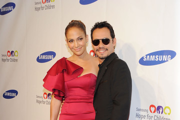 Jennifer Lopez Marc Anthony Samsung Hope For Children Gala