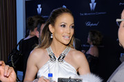 Jennifer Lopez Metallic Clutch
