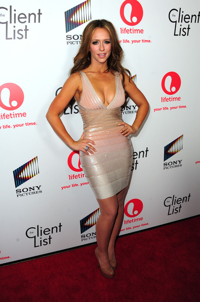 Jennifer Love Hewitt Bandage Dress