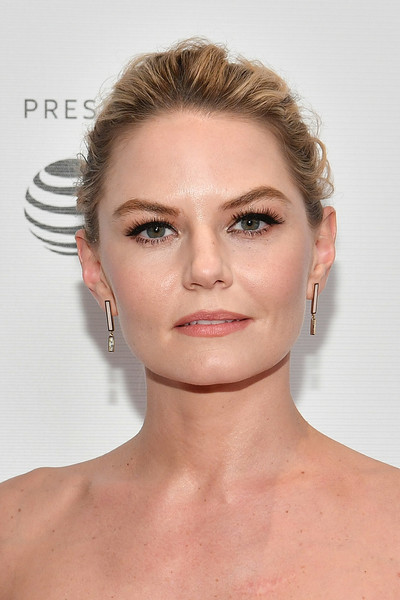Jennifer Morrison Loose Bun [hair,face,eyebrow,hairstyle,chin,lip,skin,eyelash,cheek,forehead,jennifer morrison,indie pilots,tv,screening,tribeca tv,tribeca,new york city,cinepolis chelsea,tribeca film festival]