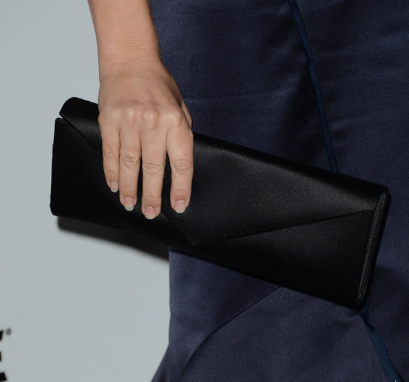 Jennifer Westfeldt Satin Clutch