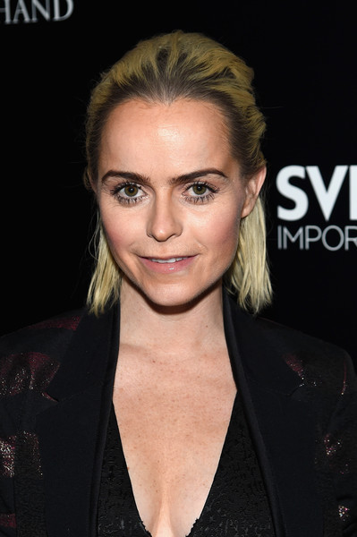 Taryn Manning opted for an edgy half-up 'do when she attended the 'Jeremy Scott: The People's Designer' after-party.