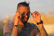 Jerome Boateng Presents His Eye Wear Collection In Berlin