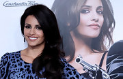 """Spanish actress and sister of Penelope Cruz, Monica Cruz attended the premiere of """"Jerry Cotton"""" where she showed off her dark brown mane. Beautiful!"""