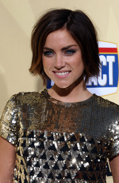 Jessica Stroup Hair Actress Jessica Stroup arrives at the premiere of
