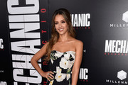 Jessica Alba Corset Dress