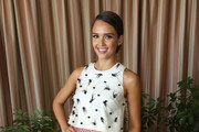 Jessica Alba Embellished Top