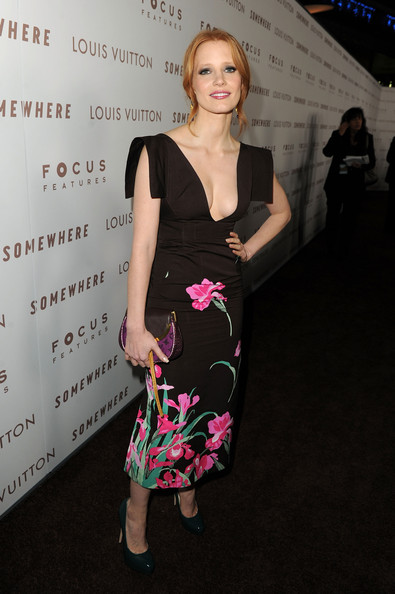 Jessica Chastain Envelope Clutch