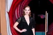 Jessica Chastain Lace Dress