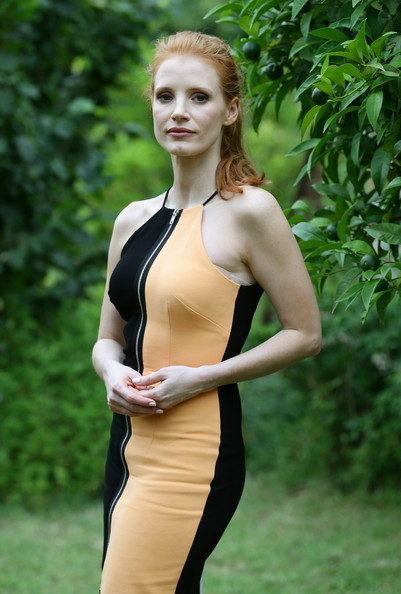 More Pics of Jessica Chastain Cocktail Dress (2 of 31) - Jessica Chastain Lookbook - StyleBistro