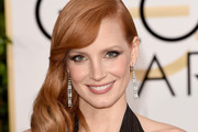 Jessica Chastain Side Sweep