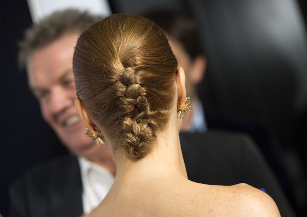 Jessica Chastain French Braid