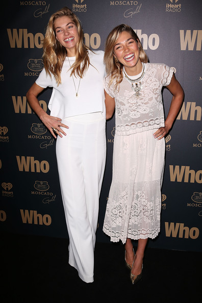 Arrivals at the WHO's Sexiest People Party