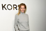 Jessica Hart Turtleneck
