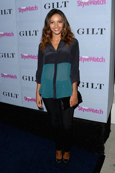 Jessica Lucas Button Down Shirt