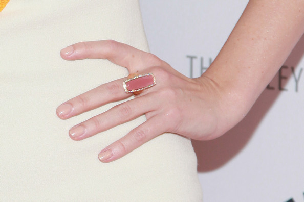 Jessica Pare Gemstone Ring [season,mad men,finger,nail,hand,skin,ring,manicure,joint,jewellery,nail care,material property,jessica pare,new york city,paley center for media presents: ``mad men,the paley center for media,presentation,season]